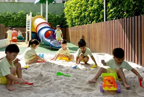 Outdoor Playground and Sandpit