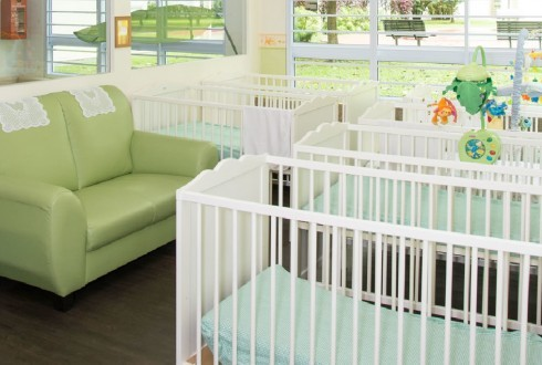 Infant Sleeping Area