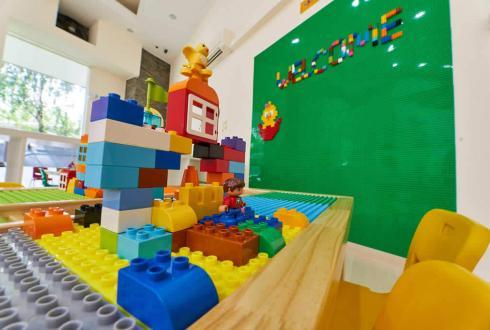 Innovation and creativity are vital components in the Cambridge curriculum. The LEGO wall play and table play are 2 areas where we allow the child's imagination without limitations.